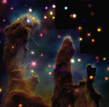 Eagle nebula; photo courtesy of NASA
